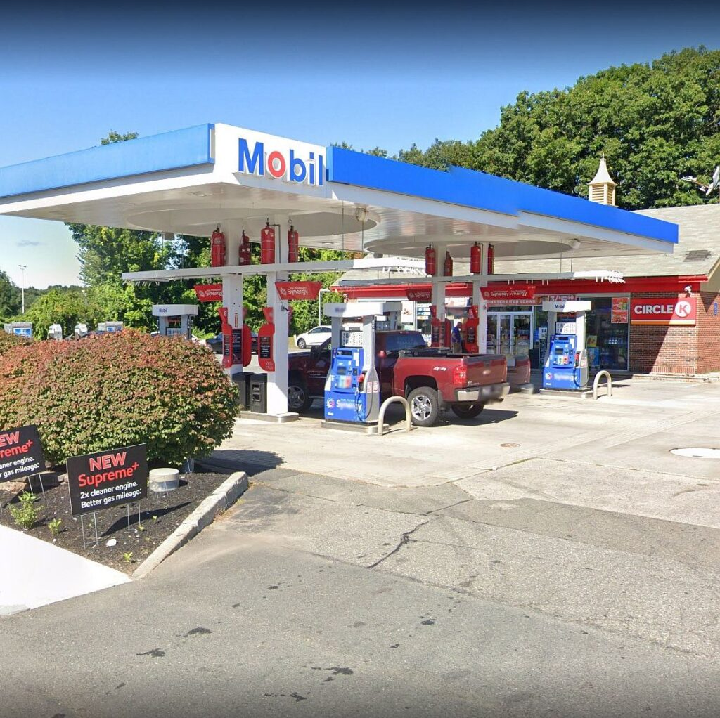 Essex Shell Gas Station Outside View